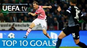 10 گل برتر لیگ قهرمانان اروپا در فصل 16-2015