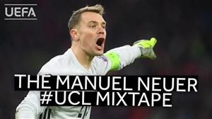 بهترین های مانوئل نویر در لیگ قهرمانان اروپا