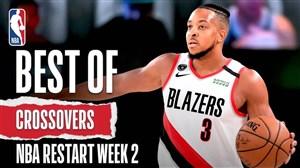 کراس اوور های برتر بسکتبال NBA در هفته دوم بازگشایی مسابقات