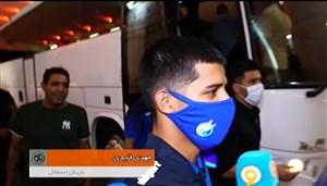 حواشی بعد از بازی استقلال - سپاهان