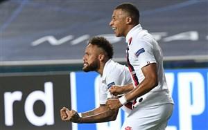 همکاری های عالی نیمار و امباپه در لیگ قهرمانان اروپا