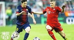 تقابل های بایرن مونیخ با بارسلونا در لیگ قهرمانان اروپا
