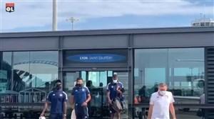پرواز تیم المپیک لیون به سمت لیسبون