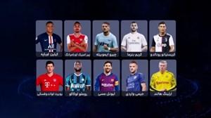 بهترین مهاجمهای فصل 2019/20 فوتبال اروپا