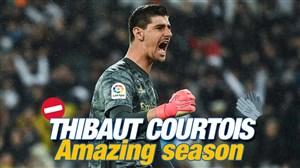 بهترین های تیبو کورتوا در فصل 20-2019