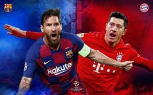 مقایسه لواندوفسکی و لیونل مسی دو ستاره بازی امشب