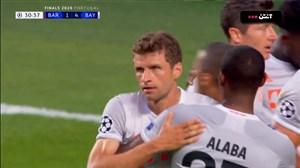 گل چهارم بایرن مونیخ به بارسلونا (دبل مولر)