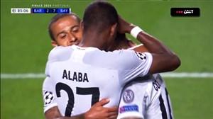 گل هفتم بایرن مونیخ به بارسلونا توسط کوتینیو