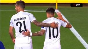 گل هشتم بایرن مونیخ به بارسلونا (دبل کوتینیو)