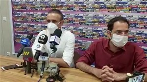 کنفرانس خبری یحیی گل محمدی پس از تساوی مقابل گل گهر