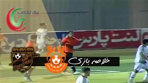 خلاصه بازی مس رفسنجان 1 - بادران تهران 1