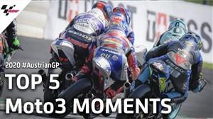 5 لحظه برتر موتو3 اتریش 2020