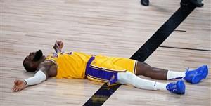 لیگ بسکتبال NBA؛ جیمز مصدوم شد