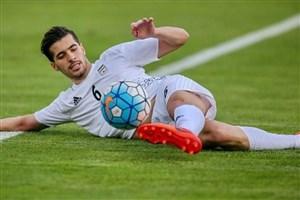 گلزنی سعید عزتاللهی در اولین بازی برای وایله دانمارک