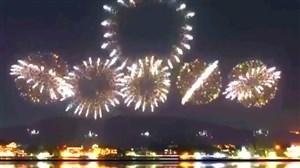 آتش بازی افتتاحیه المپیک ۲۰۲۰