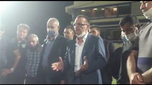 سخنرانی زنوزی بعد از بقای ماشینسازی در لیگ