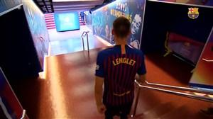 برترین لحظات کلمنت لنگله در بارسلونا