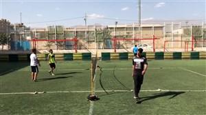 تنیس فوتبال پیام نیازمند با محمد حسین میثاقی