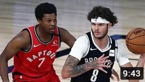 خلاصه بسکتبال بروکلین نتس - تورنتو رپترز