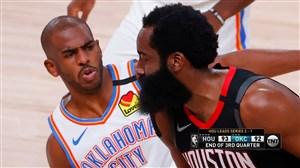 خلاصه بسکتبال اوکلاهاما سیتی - هیوستون راکتس
