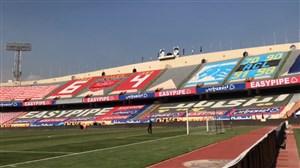 حال و هوای ورزشگاه آزادی کمتر از 2 ساعت تا شروع دربی تهران
