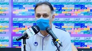 کنفرانس خبری نامجومطلق از پیروزی مقابل پرسپولیس