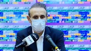 کنفرانس خبری گلمحمدی پس از شکست برابر استقلال
