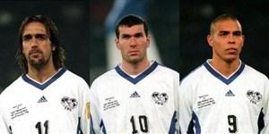 خاطره انگیز; منتخب جهان در برابر منتخب ایتالیا