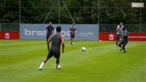 ادامه تمرینات پیش فصل 2020/21 لیورپول در اتریش