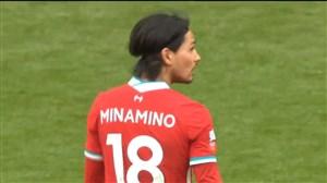 گل اول لیورپول به آرسنال (مینامینو)