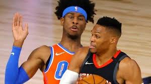 خلاصه بسکتبال هیوستون راکتس - اوکلاهما سیتی تاندر