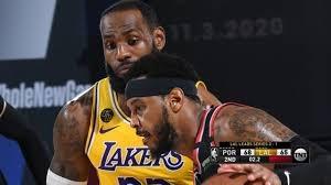 خلاصه بسکتبال لس آنجلس لیکرز - پورتلند تریل بلیزرز