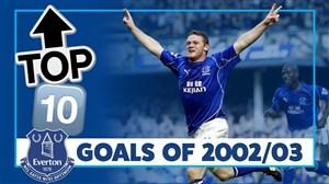10 گل برتر اورتون در فصل 03-2002