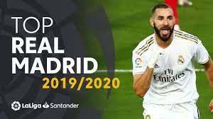 10 گل برتر رئالی ها در فصل 20-2019