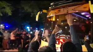 اتوبوس استقلالی ها و هواداران پرشور مشهدی