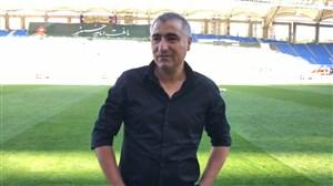 صحبت های ساکت الهامی در خصوص چمن ورزشگاه امام رضا