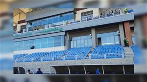 حضور افراد اضافی و ادمینهای تلگرامی در ورزشگاه فینال حذفی