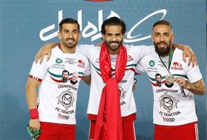 کاپیتان های تیم ملی و جامی به ارزش طلا(عکس)