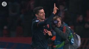تمامی گلهای لواندوفسکی در لیگ قهرمانان اروپا 2019/20