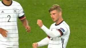 گل اول آلمان به اسپانیا توسط ورنر