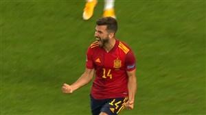 گل اول اسپانیا به آلمان توسط گایا