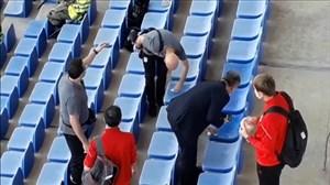 وضعیت اسکوچیچ سرمربی تیم ملی در بازی دیروز استقلال تراکتور