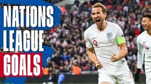 گلهای برتر تیم ملی انگلیس در لیگ ملت های اروپا