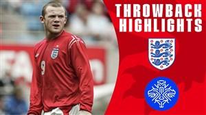 برد پر گل خاطره انگیز تیم ملی انگلیس مقابل ایسلند