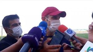 گل محمدی در حاشیه تمرین پرسپولیس: فردا استعفا میدهم