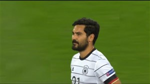 گل اول آلمان به سوئیس ( گوندوغان )