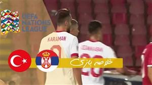 خلاصه بازی صربستان 0 - ترکیه 0