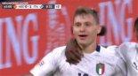 گل اول ایتالیا به هلند توسط بارلا