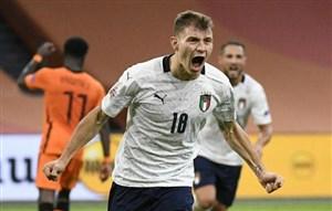 پیروزی ایتالیا مقابل هلند در لیگ ملتهای اروپا
