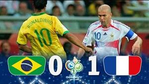 خاطره انگیز ؛ فرانسه - برزیل 2006
